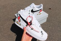 Order Now #custom #nike #af1 #kingbyit #shoes #sneakers #trend #viral Air Force Sneakers, Nike Air Force, Shoes Sneakers, Nike Af1, King, Photo And Video, Fashion, Loafers & Slip Ons, Moda