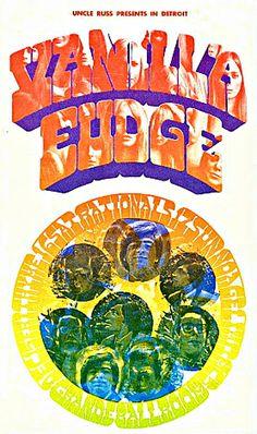 Vanilla Fudge, Grande Ballroom, Detroit 1967/68 |