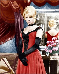 Julie Christie in the red dress from Dr. Zhivago, 1965, Phyllis Dalton.