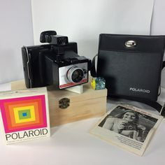 Polaroid Colorpack 80 Land Camera Instant Case Manual Film Expired Tested Works Ready to Shoot Gift Starter Instant Kit by KoolKoolThangs on Etsy