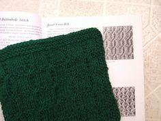 Jewel cross rib washcloth