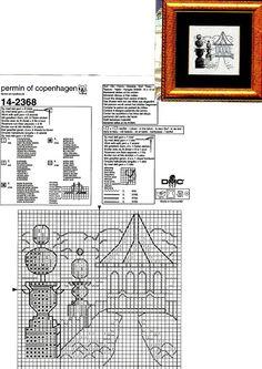 Más Punto de Cruz (pág. 51) | Aprender manualidades es facilisimo.com Permin garden