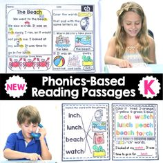 These pre-made reading passages take the stress out of developing lesson plans & allow you to focus on building relationships with your students.
