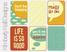 Awesome printables of quotes sayings and useful stuff. Seasonal too! Love this