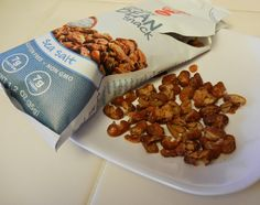 Crunchy Bean Snacks #glutenfree #protein