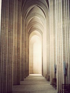 Grundtvig's Church, Copenhagen, Denmark. Photo: Kim Høltermand