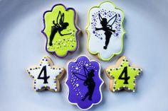 Tinkerbell Cookies | Baked Happy