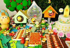TUDO PRA SUA FESTA: Festa Infantil - Tema Aniversário no jardim Parte 1
