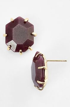 Love these marsala studs.