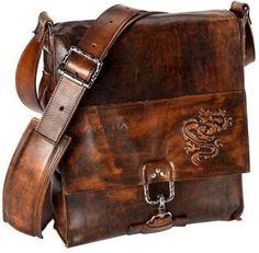 Mark Nason Messenger Leather Bag