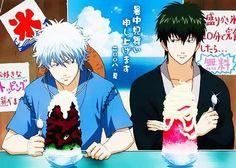 : Silver Soul Arc 2 - Second Season of the final arc of Gintama. Comedy Anime, Okikagu, Great Friends, Me Me Me Anime, Samurai, Nerd, Fan Art, Animation, Manga