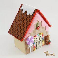 Apostila Casinha Tridimensional. Adquira a sua na loja oficial (clique em visitar ou acesse www.timart.com.br)