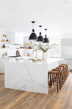 This Stunning All-White Kitchen Renovation | MyDomaine