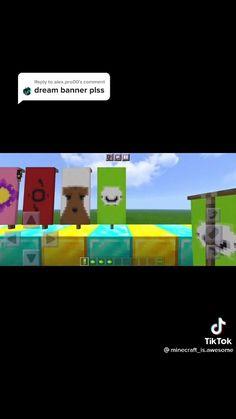 Project Minecraft, Craft Minecraft, Minecraft Banner Designs, Minecraft Banners, Minecraft Plans, Minecraft Decorations, Minecraft Construction, Minecraft Tutorial, Minecraft Blueprints