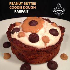 Peanut Butter Cookie Dough Parfait quest bars