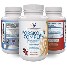 100 Pure  Natural Max Strength 40 Standardized Forskolin Extract 300mg Weight Loss Supplement Appetite Suppressant Fat Burner Increases Metabolism Energy Booster 90 Veggie Capsules ** Continue to the product at the image link.Note:It is affiliate link to Amazon.