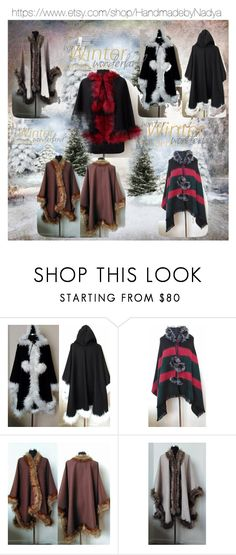 """Winter Wonderland"" by artbymarionette ❤ liked on Polyvore featuring handmade, EtsySpecialT, crazy4etsy and SpecialTweek"
