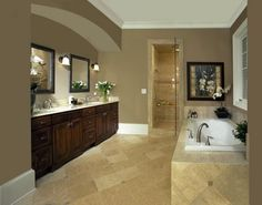 dreaming about master bathrooms