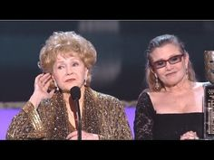 Debbie Reynolds - Lifetime Achievement Award - SAG 2015. The next time Hollywood wants to honor the wonderful Debbie Reynolds, call her son, Todd Fisher, to do the honors, please! #examinercom #debbiereynolds #carriefisher #princessleiastrikesback