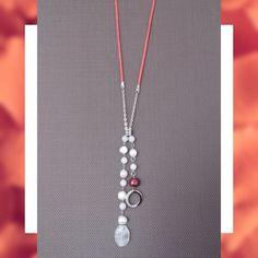 SOIE | Asesoría de Imagen | Collares | Colombia - Tienda Online | Orange, Pearls & Crystal Pearls, Orange, Crystals, Collection, Jewelry, Templates, Store, Colombia, Necklaces
