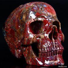Pietersite Crystal Skull
