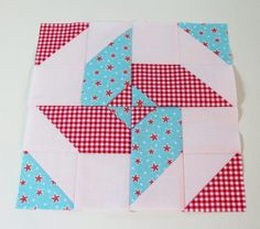 my virtual quilting bee block four.