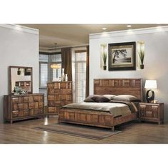 Harrison Queen Bookcase Bedroom Set | Weekends Only Furniture and ...