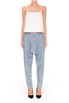 Finders Keepers the Label   Underpass Pants   Chambray   BNKR   Shop Finders Keepers