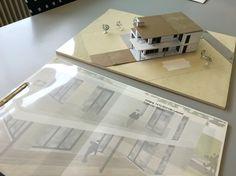 Maquette architectuur Lelystad