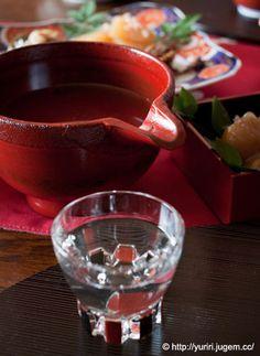 tableware for sake 山中塗 酒器セット