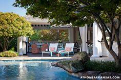 A Haute Outdoor Retreat | At Home Arkansas | March 2014 | Photographer: Nancy Nolan | Designer: Tobi Fairley @Tobi Fairley