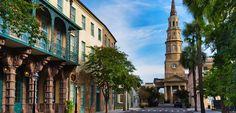 CHALRESTON, SOUTH CAROLINA: St. Philip's.