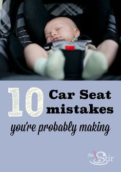 car seat mistakes