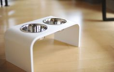 Modern Elevated pet feeder dog