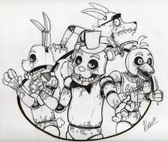 5 nights at freddy\\\\'s coloring pages 58 Best 5 nights at freddy's/Minecraft images | Coloring pages  5 nights at freddy\\\\'s coloring pages