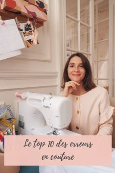 10 erreurs en couture (et comment les éviter) The top 10 mistakes in sewing, and how to avoid them! Diy Clothes Tops, Sewing Clothes, Dress Sewing, Couture Mode, Couture Fashion, Fashion Sewing, Diy Fashion, Fashion Clothes, Sewing Hacks