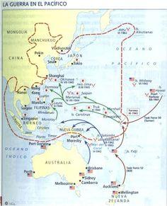La II G. Mundial en el Pacífico
