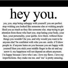 Cheer up, beautiful!