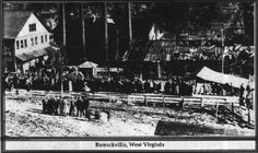 1916 Barrackville Mine Disaster  There were several mine diasters at Barrackville mine over c. 100 years.  The mine was some distance across the Barrackville bridge from the primarly residential district of Bville on the side of the bridge closer to Fairmont.