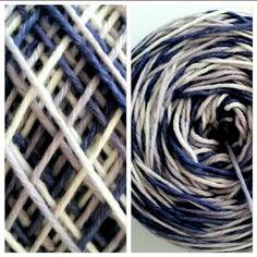 Wolle in der Schweiz Online kaufen. Handgefärbt und im langen Farbverlauf, zum Stricken + Häkeln, Anleitungen. Garden Hose, Numeracy, Lilac, Switzerland, Tutorials