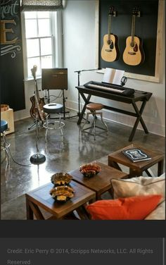 15 Design Ideas for Home Music Rooms and Studios | Lovers, Studio ...