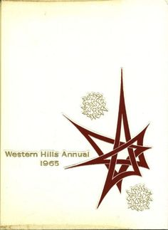 Cincinnati Western Hills High School Annual cover 1965