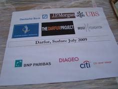 Cargo sponsors Darfur, Sudan 2009