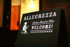 ALLEGREZZA Shop Design on Behance