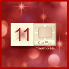 Great Plains tablet case from the Gemini advent competition - day 11