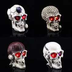 ==> [Free Shipping] Buy Best High-grade resin Flashing skull mask Event & Party Supplies for Halloween / Cosplay / Party Online with LOWEST Price | 1370023533