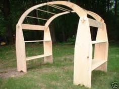 Simple frame with arches