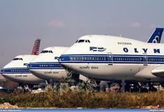 Olympic Airways B (Spirit, Eagle, Peace) Boeing Aircraft, Passenger Aircraft, Boeing 747 200, 747 Jumbo Jet, Helicopter Plane, 747 Airplane, Olympic Airlines, Best Flights, Commercial Aircraft