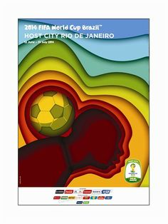 Official Poster for the city of Rio de Janeiro #2014worldcup #hostcity