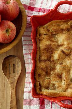 Apple Dumpling Cobbler | www.chocolatemoosey.com